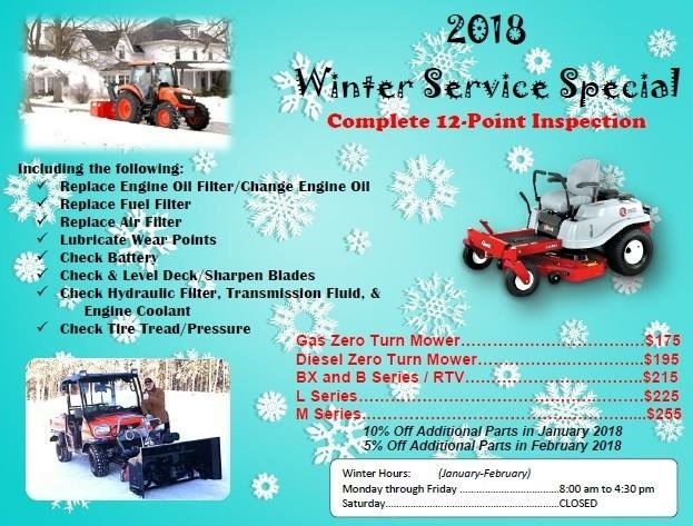 Service Specials Going On Now